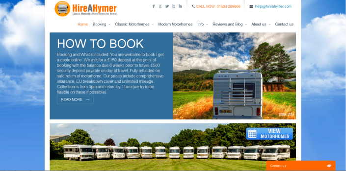 Hire a Hymer Home